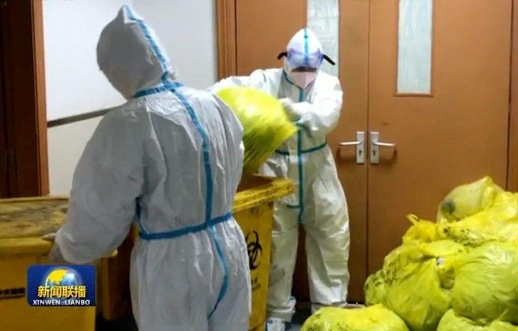 """Coronavirus medical waste"""